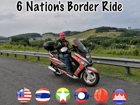 6 Nation's Borders Ride Highlights