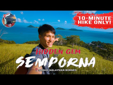 How to get to this HIDDEN GEM in Semporna, Sabah | TANJUNG PARAPAT