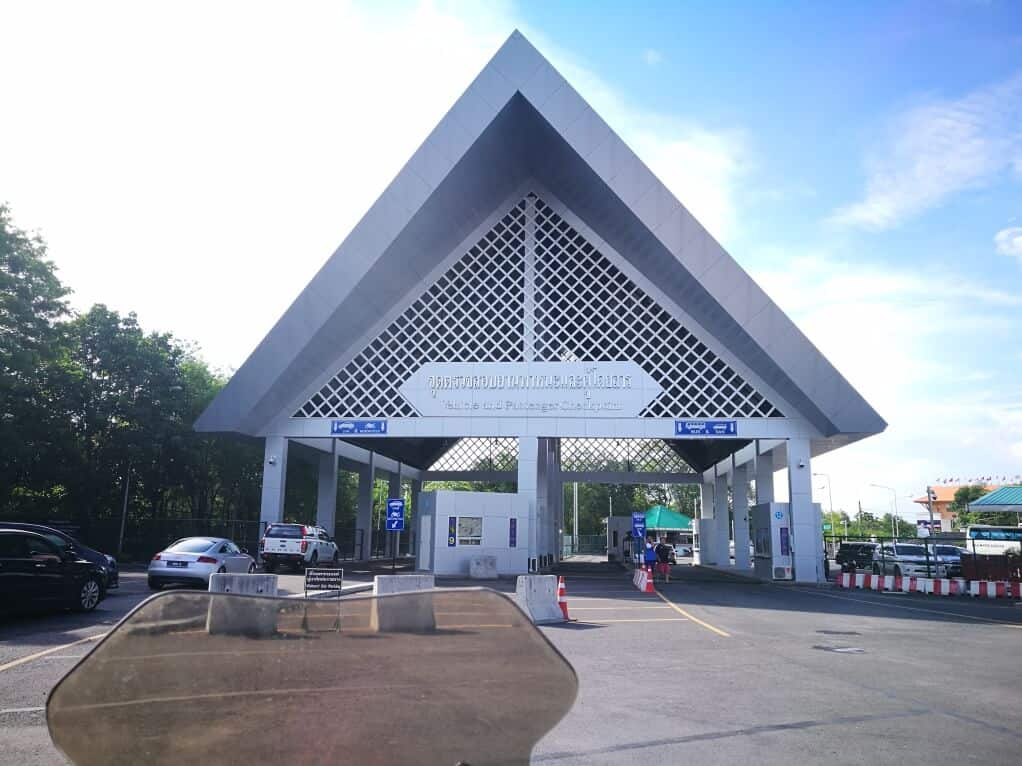 Malaysia - Thailand Border Crossing By Car Or Motorcycle