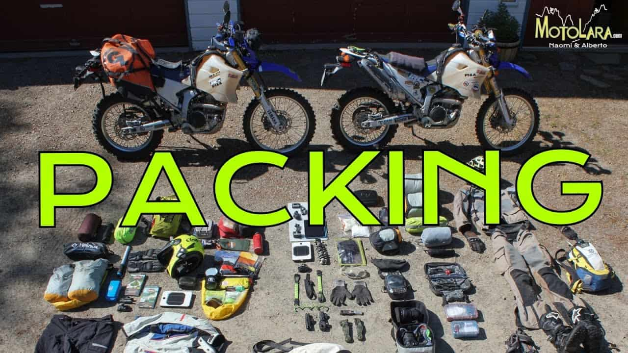 Motorcycle Travel Checklist For Long Distance Riding