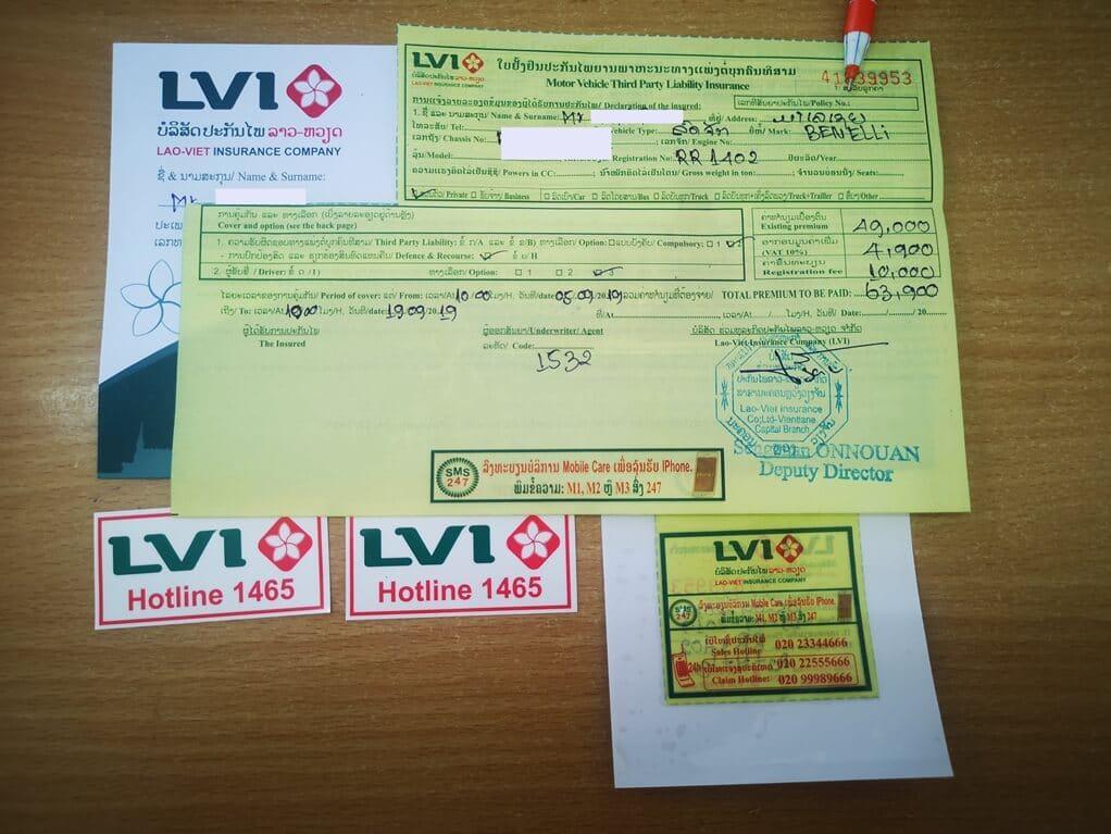 laos third party insurance