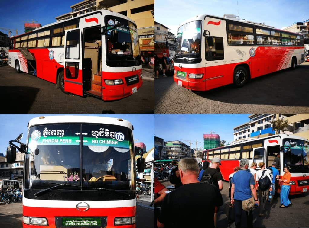 Phnom Penh to Ho Chi Minh Bus Review (Latest Guide)