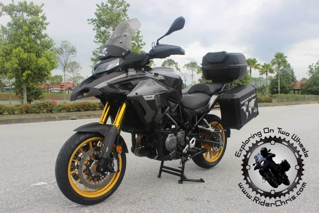Benelli TRK 502 Malaysia Review
