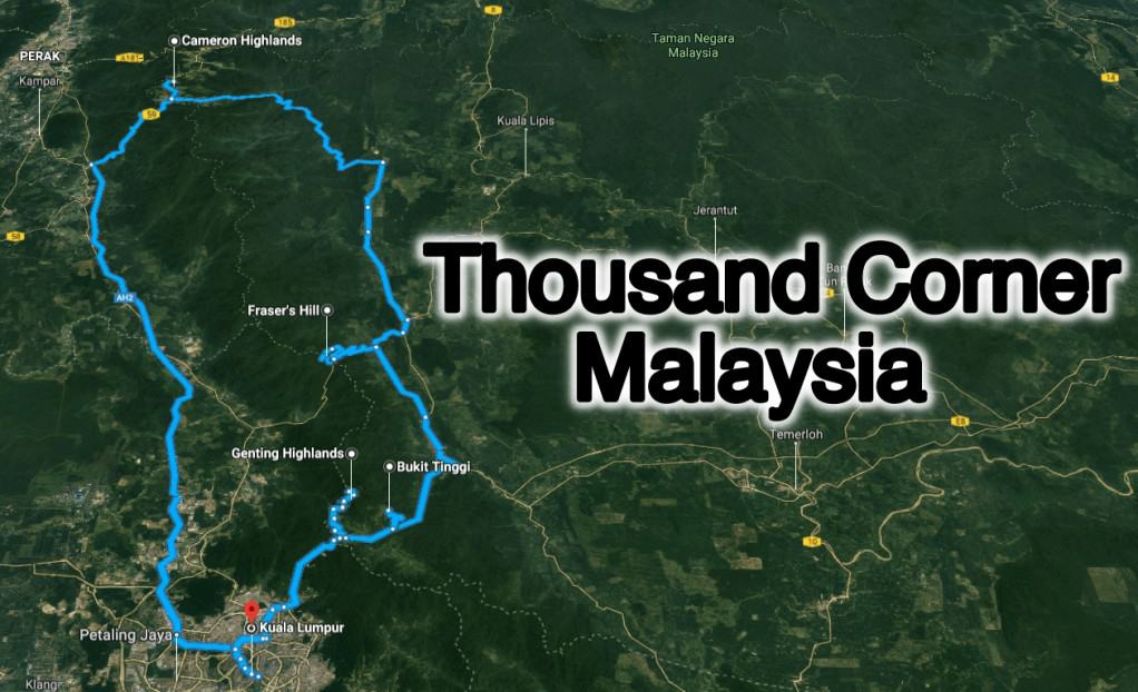 Thousand Corner Malaysia - Pahang's Hills Loop