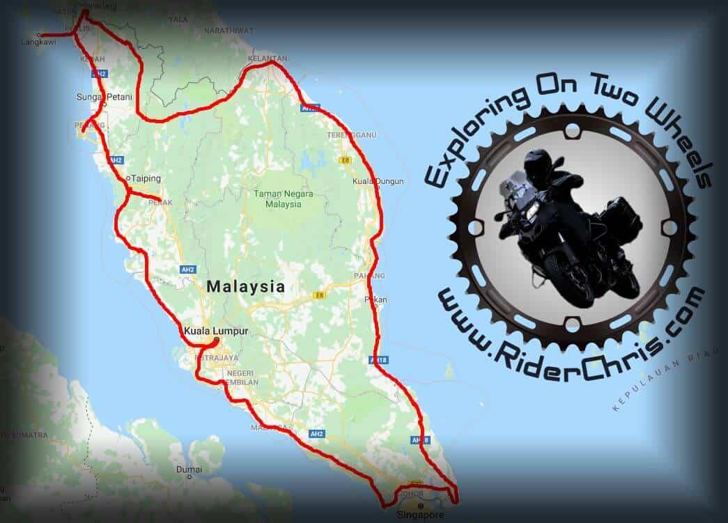 Peninsular Malaysia Ride - My Beautiful Country