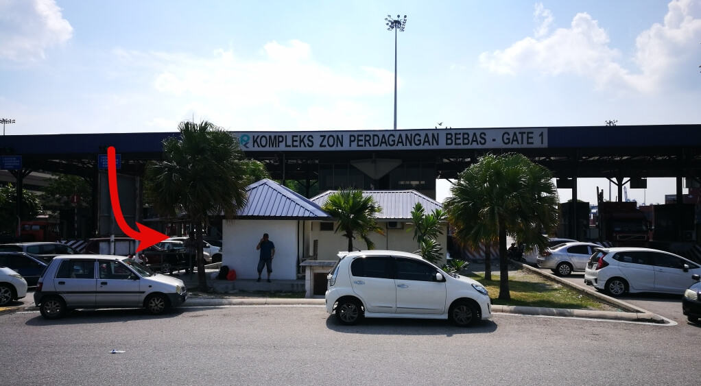 North Port main entrance (Gate 1)