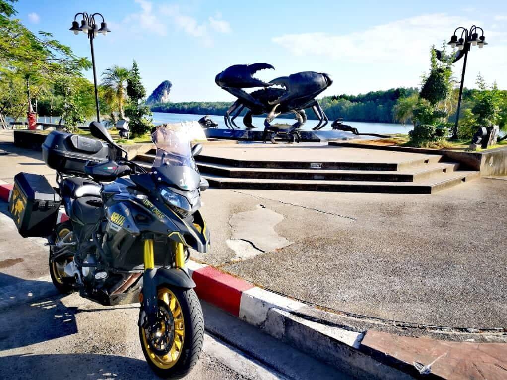 Crab Statue in Krabi