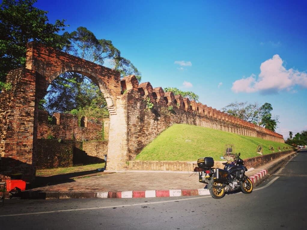 Old City Wall of Nakhon Si Thammarat