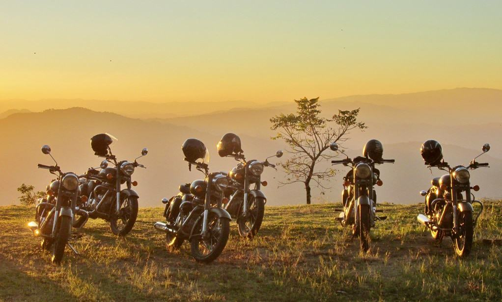 Roads of Asia on a Royal Enfield