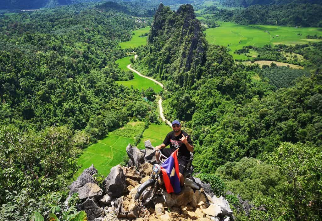 Pha Ngern and Nam Xay View Points in Vang Vieng, Laos