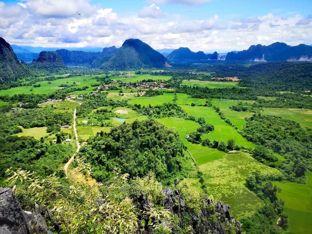 Pha Ngern View Point, Laos