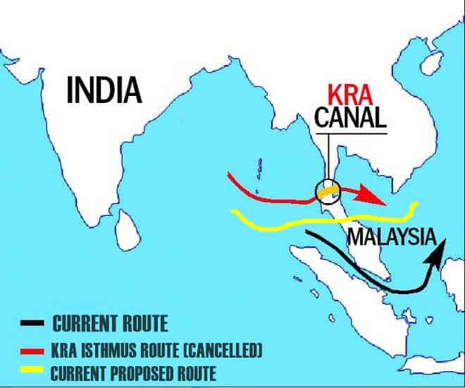 kra canal route