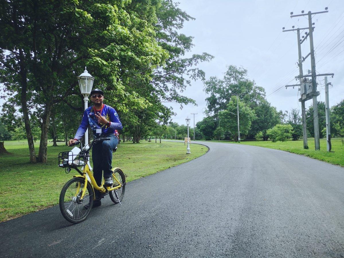 Si Satchanalai Historical Park bicycle