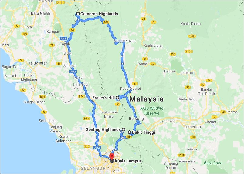 1000 Corners Malaysia