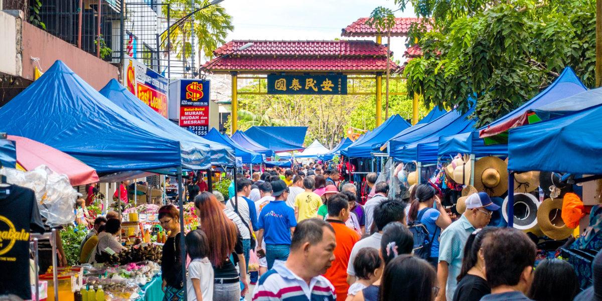 Gaya Street (Sunday Morning Market)