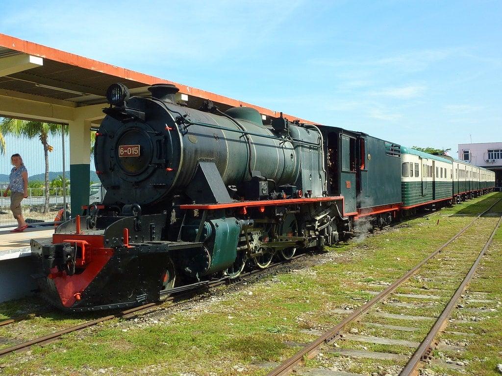 North Borneo Railway (Steam Train)