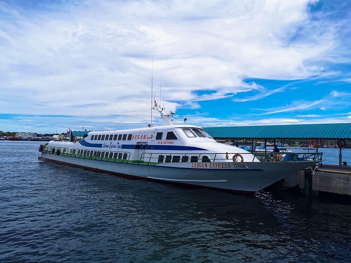 Labuan to KK Ferry