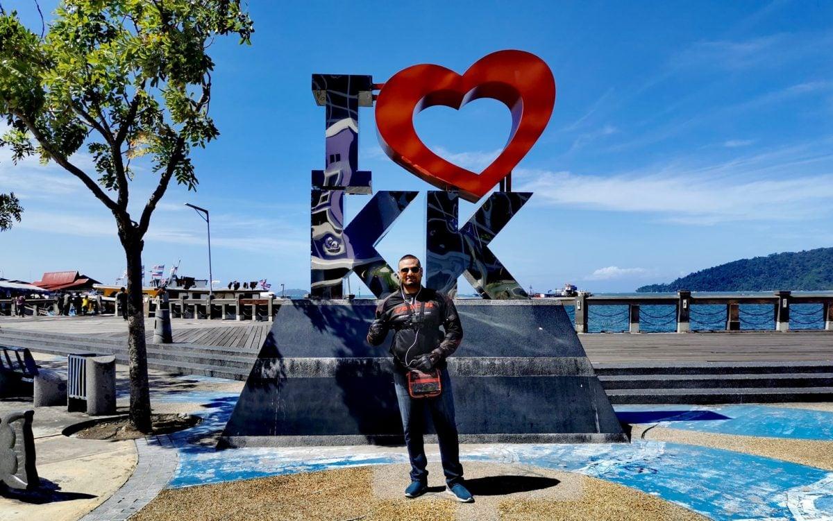 I love KK sign