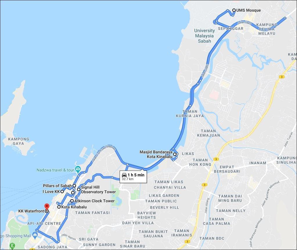 Kota Kinabalu Day 2 Itinerary