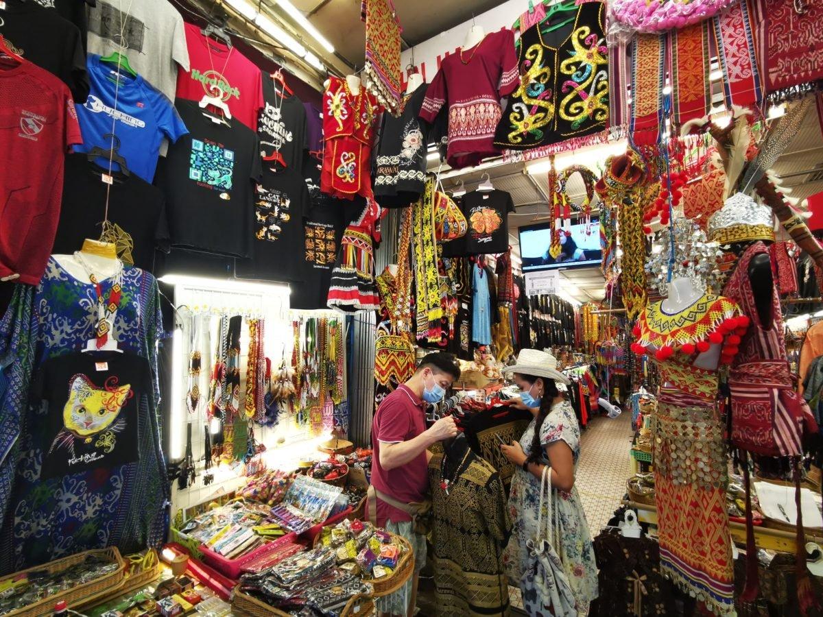 Shopping at Main Bazaar