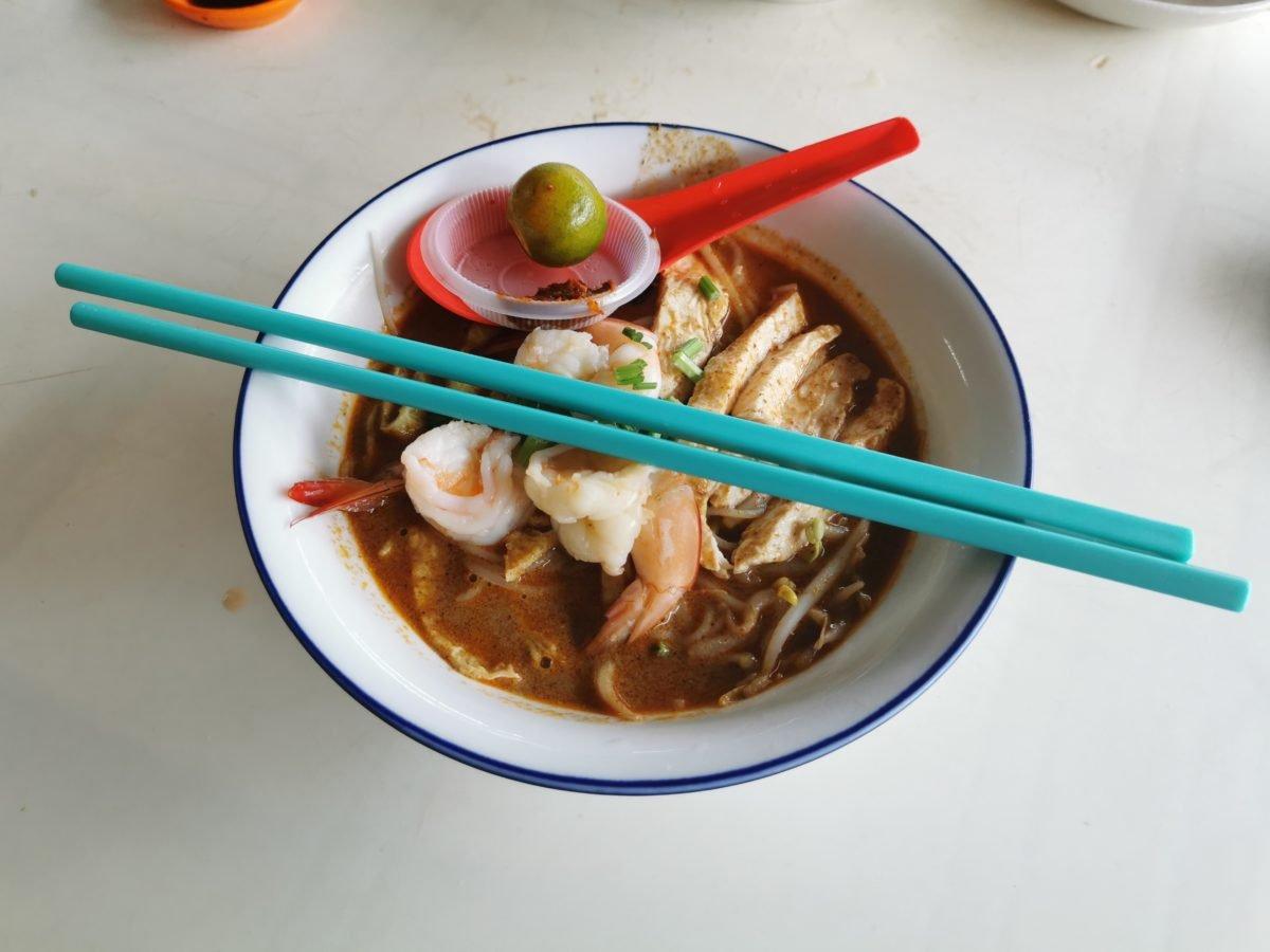 Laksa at Choon Hui Cafe