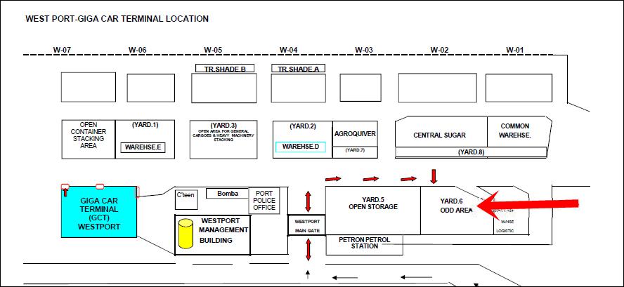 Giga Storage (Giga-2 Export Yard).