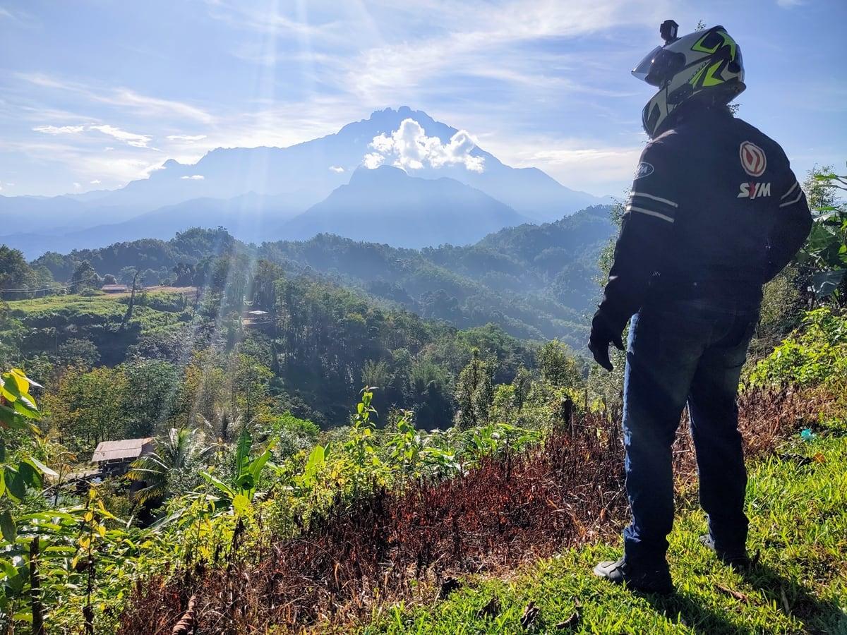 Mount Nungkok & Mount Kinabalu