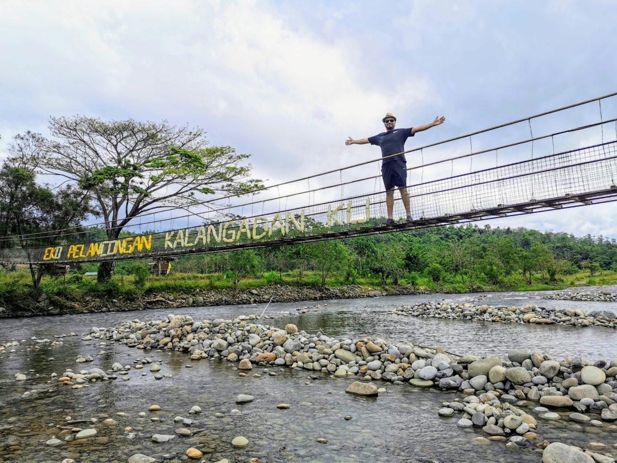 Kalangadanku Nahaba Tourism Village Bridge