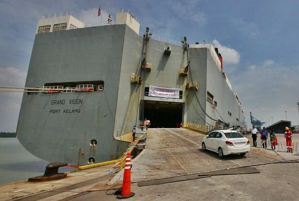 Shipping Car or Motorcycle To Sabah or Sarawak