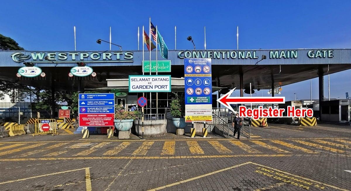 Westport Main Gate