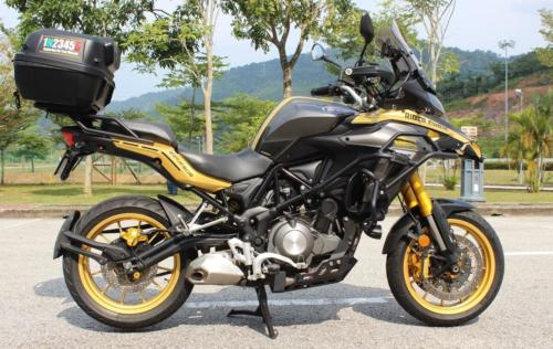 Benelli TRK 502 Review