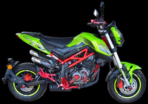 TNT 135 GREEN LE - Right Side - Benelli TNT 135SE 2020