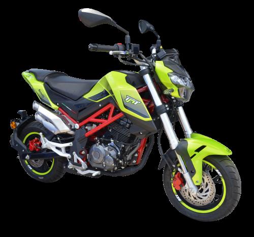 TNT Green Left - Benelli TNT 135SE 2020