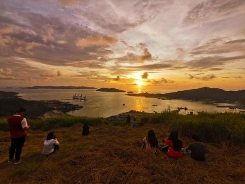 Sunset at Bonduk Hill
