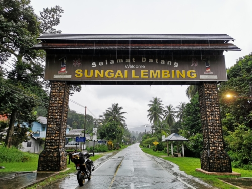 Sungai Lembing Town
