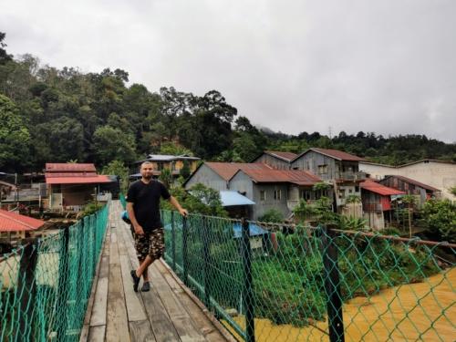 Kolong Pahat village bridge