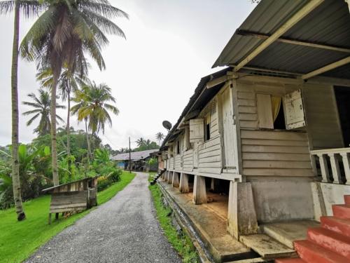 Kampung Houses in Sungai Lembing