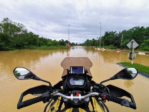 Flooded in Chukai Area