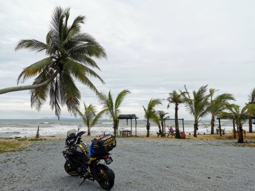 View from Terengganu's coastal road
