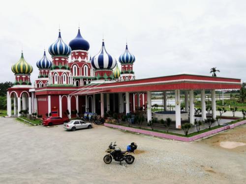 Masjid lapan kubah in Jerteh.
