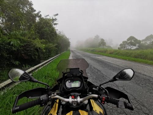 Thick fog near titiwangsa route