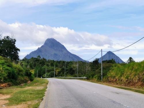 Kenderong and Kerunai Mountain.