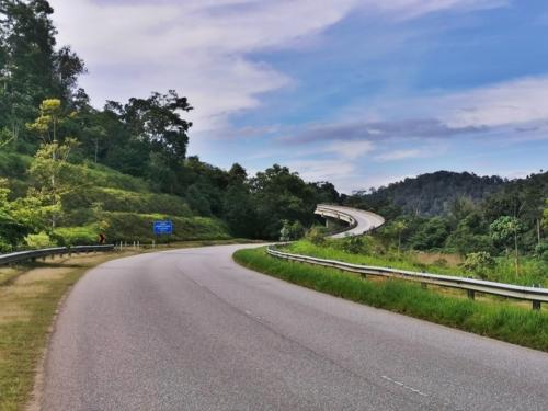 Baling-Gerik route