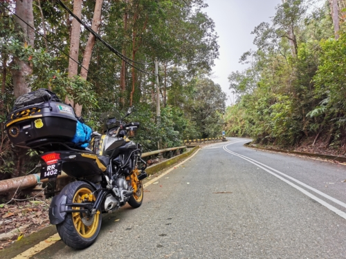Ride up to Mount Jerai