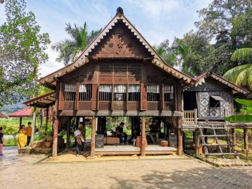 Malay House in Mahsuri's tomb complex