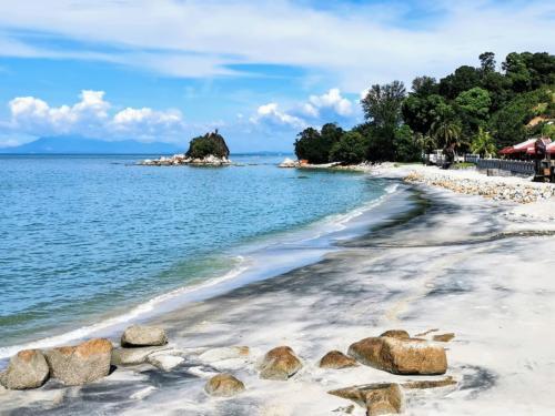 A beach near Tanjung Bunga